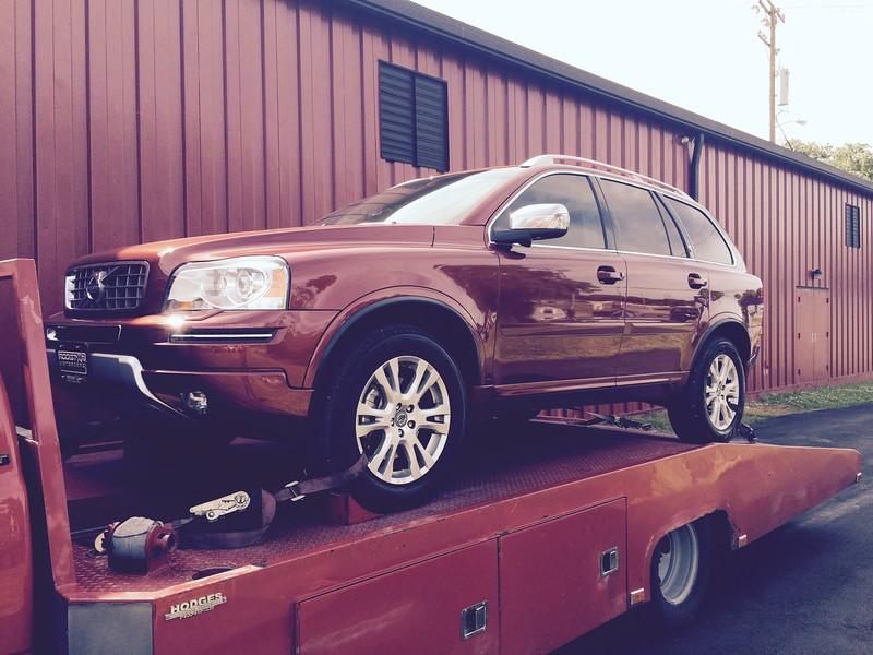 2014 Volvo XC90 (Nashville, Tennessee to Clinton, Illinois)