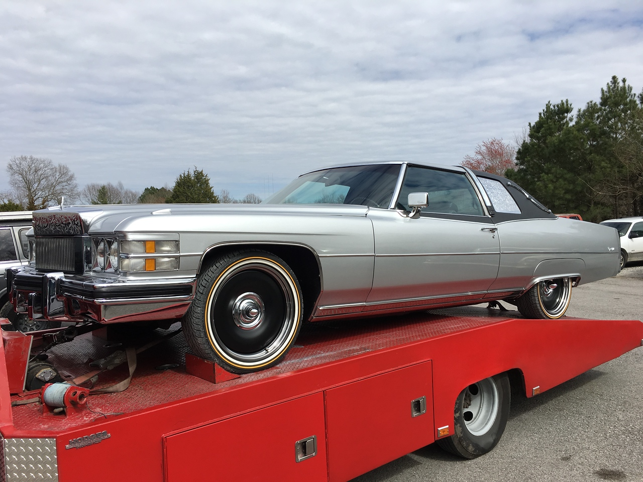 1974 Cadillac custom (Waylon Jennings) - Whites Creek, Tennessee to White Bluff, Tennessee)