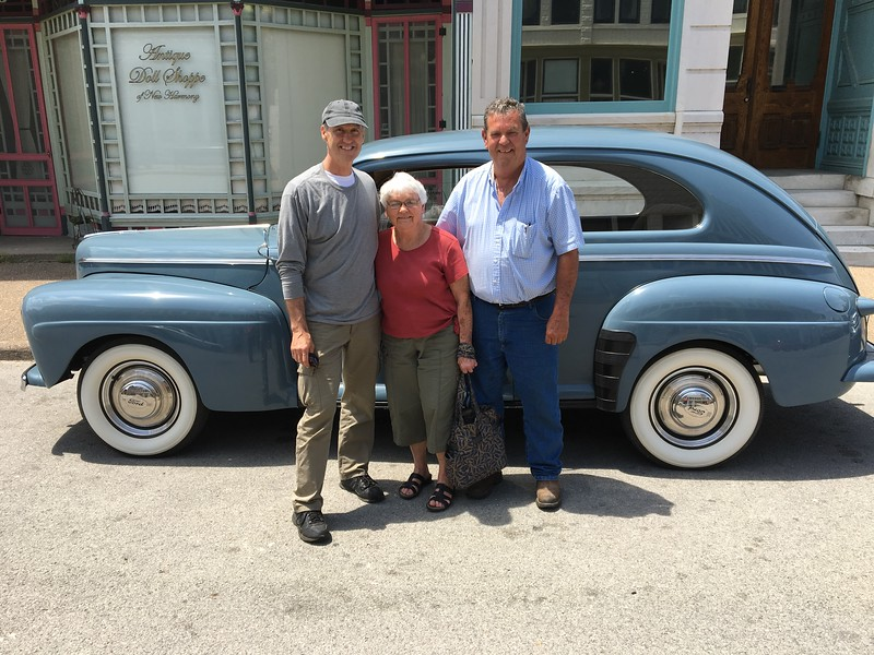 1942 Ford Delux (Nashville, Tennessee to New Harmony, Indiana)