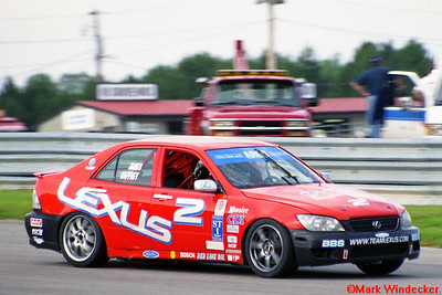 2ND TIM GAFFNEY/IAN JAMES STI LEXUS IS300