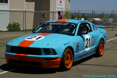 GS FREDERICK MOTORSPORTS-FORD MUSTANG GT