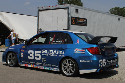 SUBARU ROAD RACING TEAM SUBARU WRX-STI