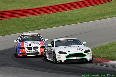 6th GS Jade Buford/Scott Maxwell Aston Martin Vantage