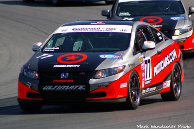 29th 8ST Aaron Povoledo/Robert Thorne Honda Civic Si