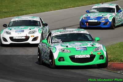 31st 10ST Derek Whitis/Tom Long Mazda MX-5
