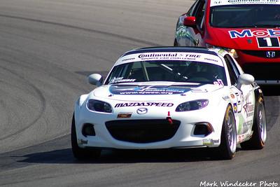 42nd 21ST Chad McCumbee/Jason Saini Mazda MX-5