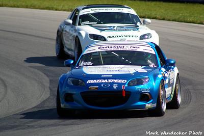 48th 26ST Marc MIller/Steven McAleer Mazda MX-5