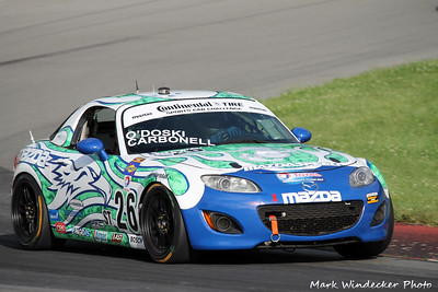 30th 9ST Andrew Carbonell/Rhett O'Doski Mazda MX-5