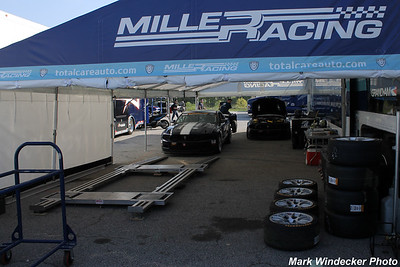 Dempsey/Miller Racing Mustang Boss 302R GT