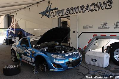 ST-C.J. Wilson Racing Mazda MX-5