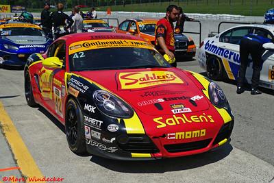 ST Team Sahlen Porsche Cayman