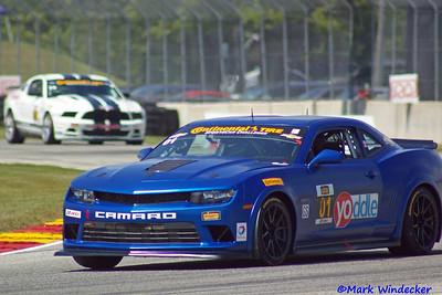 1st Eric Curran/Lawson Aschenbach Camaro Z/28.R