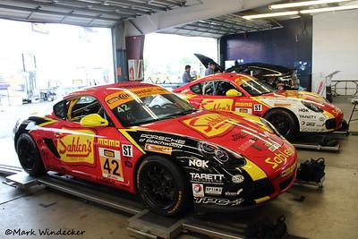 ST Team Sahlen's Porsche Cayman