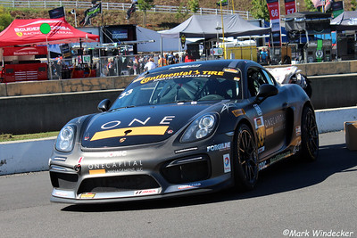 GS CJ Wilson Racing Porsche Cayman GT4