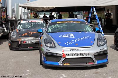 GS  CJ Wilson Racing Porsche Cayman GT4
