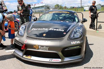 GS  CJ Wilson Racing Porsche Cayman...........
