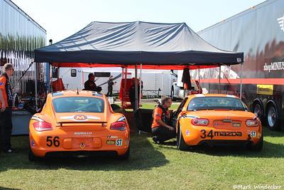 Murillo Racing  ST-Porsche Cayman  ST-Mazda MX-5