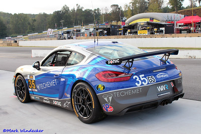 GS-CJ Wilson Racing Porsche Cayman GT4