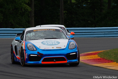 5th GS Ted Giovanis / Guy Cosmo Team TGM Porsche Cayman GT4