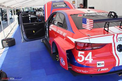 JDC-Miller MotorSports Audi RS3 LMS TCR