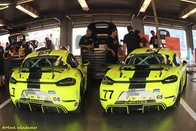 Park Place Motorsports Porsche Cayman GT4