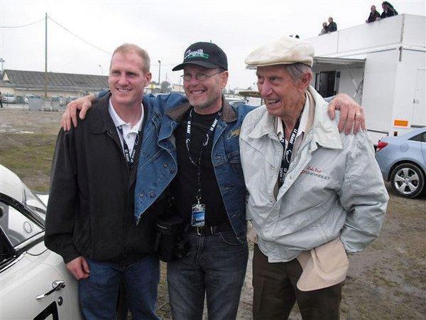 Lance Miller, Kevin Mackay, John Fitch