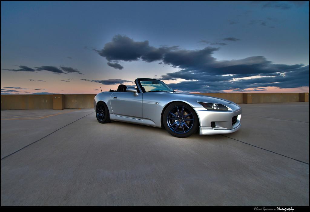 3 shot HDR photo of my car.