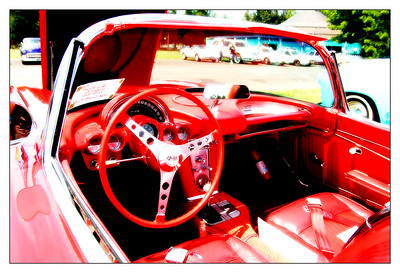 Red Corvette  Sigma 18-50mm f/2.8 EX DC
