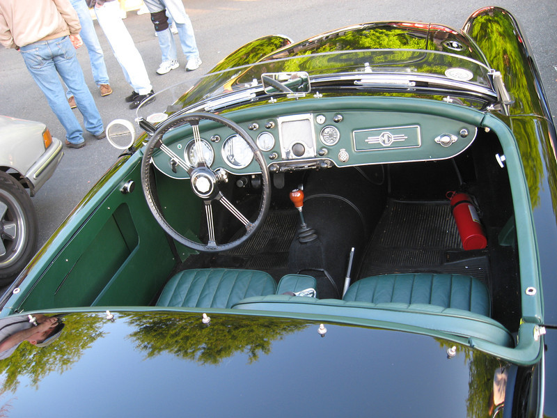 An excellent proper British cockpit.