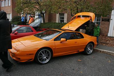 Lotus Esprit in Orange