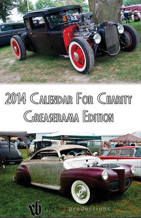 2014 Calendar For Charity Greaserama