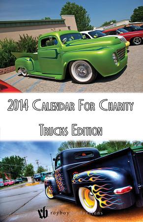 2014 Calendar For Charity Trucks