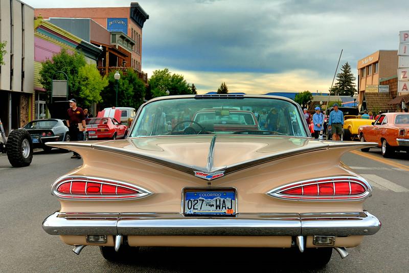 Chevy Impala  at Sunset on Main Sreet