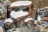 Rusty snow