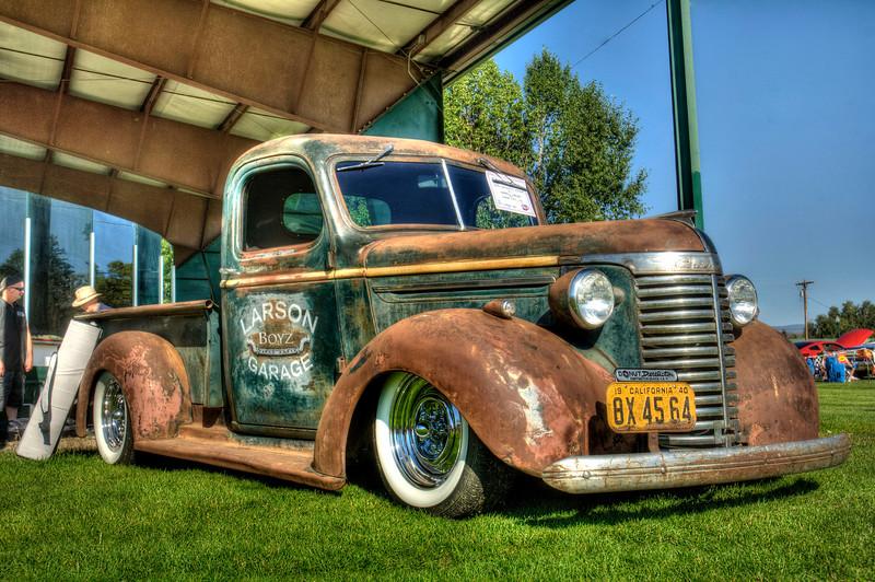 Rusty Chevy Truck