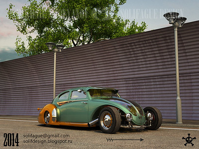 VW Beetle Custom, NO Kidding....!!!!