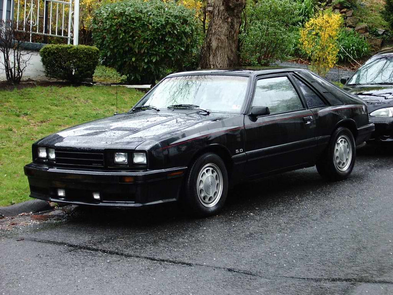 My 1986 Mercury Capri daily driver. (2 of 3) All original, 5.0, 5 spd. with 142,000 miles.