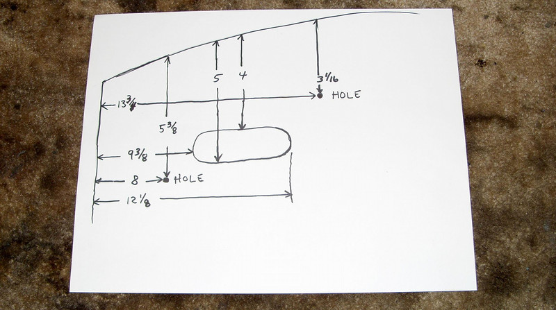 Here's a drawing with all the needed measurements... I can transfer them to the template.