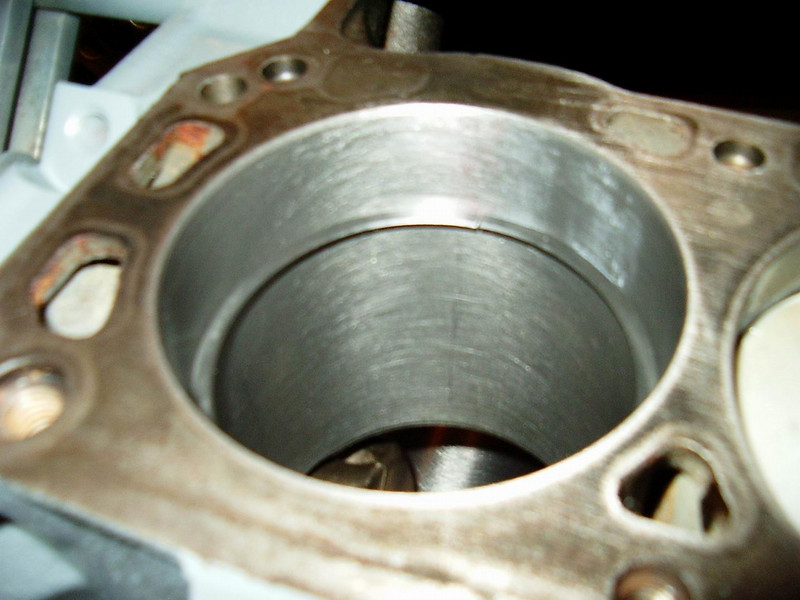 This ring is ready to go on the piston.