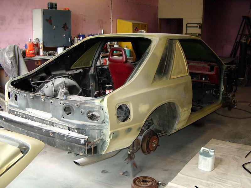 Rear shot under primer.