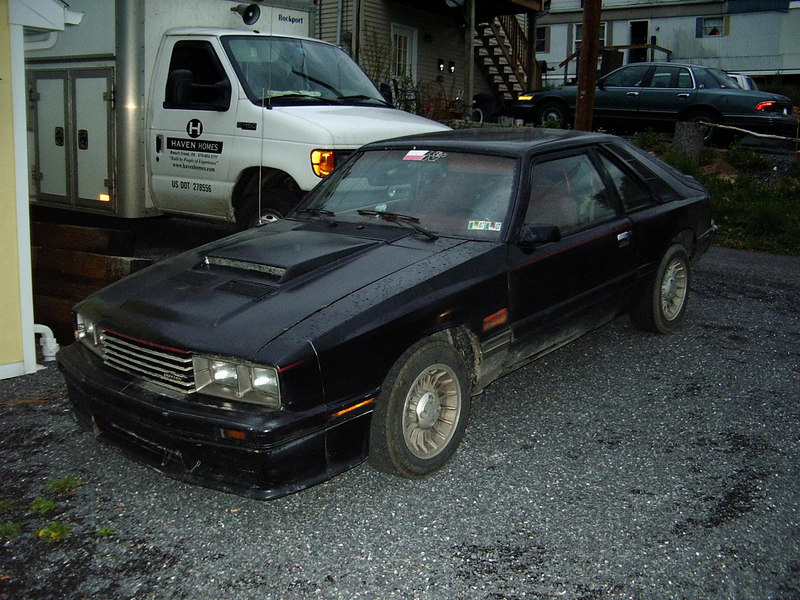 My 1986 Mercury Capri 5.0 auto. that is currently under restoration. I bought it for $1000 and started parts hunting as soon as I got it home.