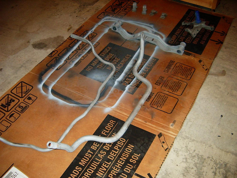 I just finished sandblasting the front and rear sway bars.
