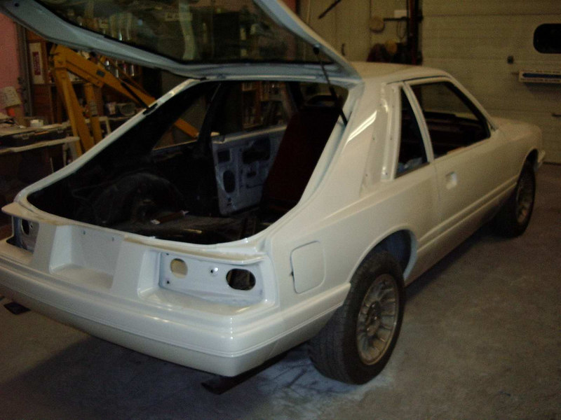 Got the hatch put back on and ready to install the ground effects kit.