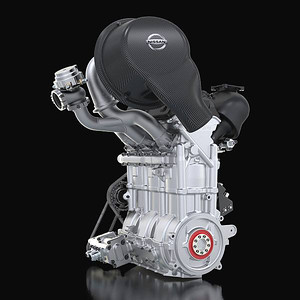 DIG-T R, the 3 cylinder 1.5 , 400HP engine that weights a scant 40kg (88lbs).