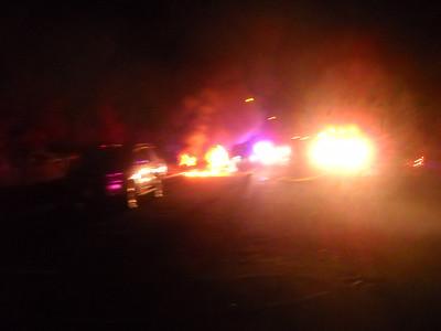 Car Fire on 14th Nov 6 2012