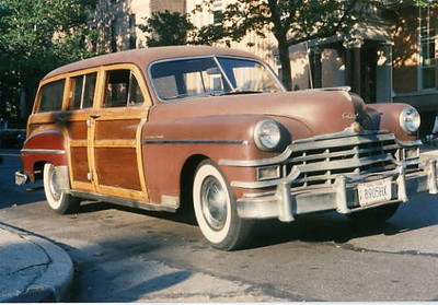 1949 Chrysler Woody