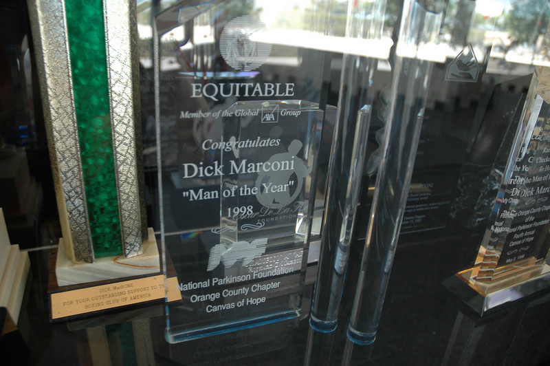"""Dick Marconi """"Man of the Year"""" 1998"""