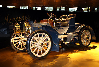 Mercedes-Benz Simplex 40hp, February 2010. This is the oldest Mercedes still in existence.