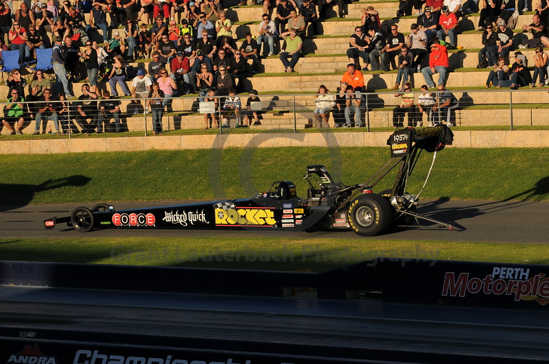 Racing at the Quit Motorplex in Kwinana Western Australia. The name says it all.