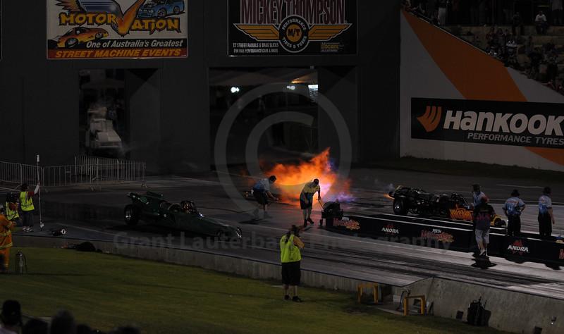 Jet Drags at Perth Motorplex 10/012/009.